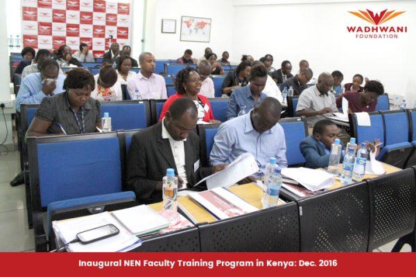 NEN Faaculty Training in Kenya