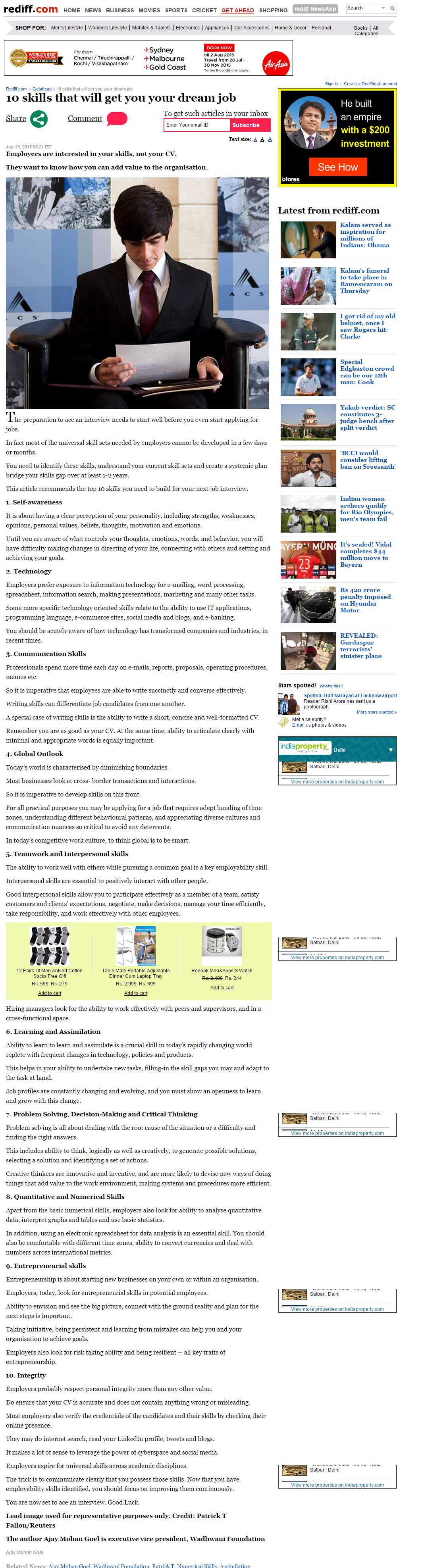 Rediff - Article PDF