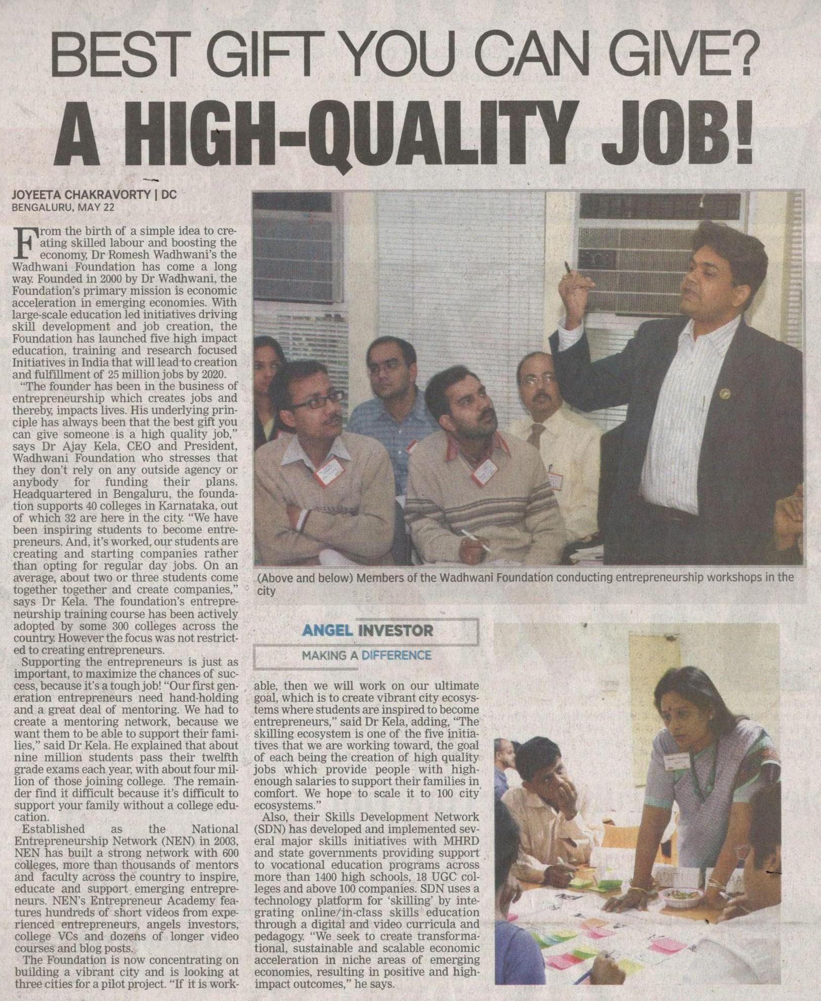 ajay kela - deccan chronicle