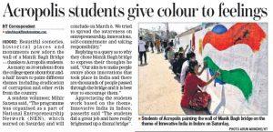 Hindustan Times - NEN Coverage