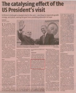 Ajay on Indo US ties