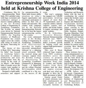 Eweek India 2014