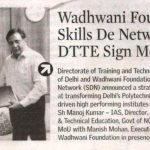 June_20_ The New Indian Express_Bangalore-Wadhwani Foundation's Skills De Network and DTTE Sign MoU