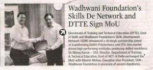 New Indian Express Bangalore Wadhwani Foundations