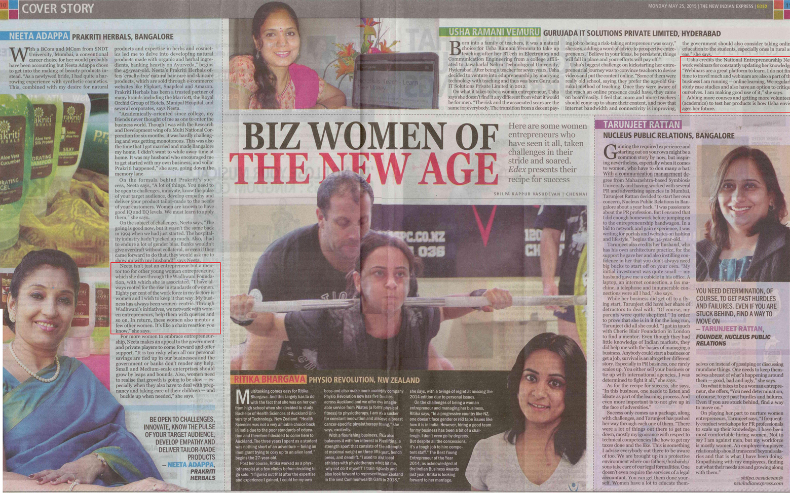 New Indian Express - EDEX Cover Story