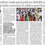 Good numbers make good policies: Reliable jobs data will help India overcome its jobless growth problem - TOI
